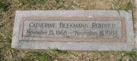 ROHWER, CATHERINE - Washington County, Nebraska   CATHERINE ROHWER - Nebraska Gravestone Photos