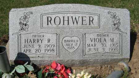 ROHWER, HARRY R. - Washington County, Nebraska | HARRY R. ROHWER - Nebraska Gravestone Photos