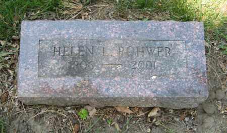 ROHWER, HELEN L. - Washington County, Nebraska | HELEN L. ROHWER - Nebraska Gravestone Photos