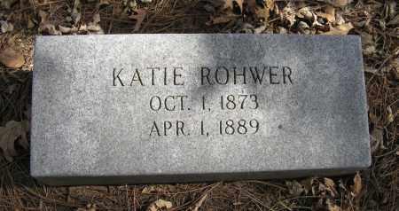 ROHWER, KATIE - Washington County, Nebraska | KATIE ROHWER - Nebraska Gravestone Photos