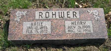 ROHWER, HENRY - Washington County, Nebraska | HENRY ROHWER - Nebraska Gravestone Photos