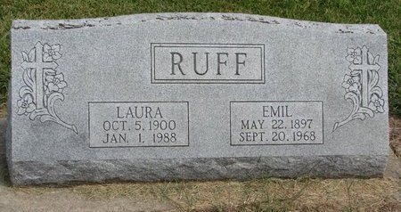 RUFF, EMIL J.D. - Washington County, Nebraska | EMIL J.D. RUFF - Nebraska Gravestone Photos