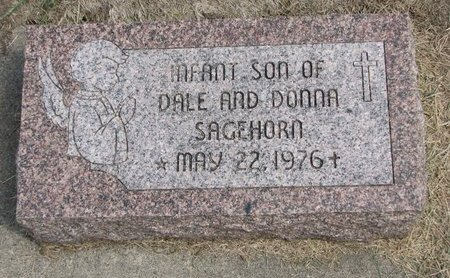 SAGEHORN, INFANT SON - Washington County, Nebraska | INFANT SON SAGEHORN - Nebraska Gravestone Photos