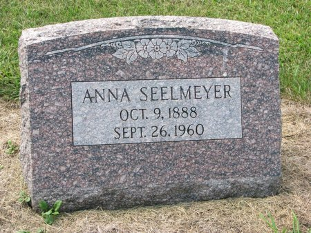 GEISLER SEELMEYER, ANNA - Washington County, Nebraska | ANNA GEISLER SEELMEYER - Nebraska Gravestone Photos