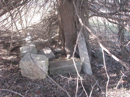 *SHIPLEY, BROKEN STONES UNDER TREE - Washington County, Nebraska | BROKEN STONES UNDER TREE *SHIPLEY - Nebraska Gravestone Photos