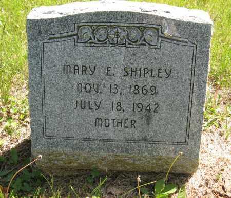 SHIPLEY, MARY E. - Washington County, Nebraska | MARY E. SHIPLEY - Nebraska Gravestone Photos