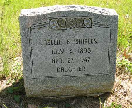 SHIPLEY, NELLIE E. - Washington County, Nebraska | NELLIE E. SHIPLEY - Nebraska Gravestone Photos