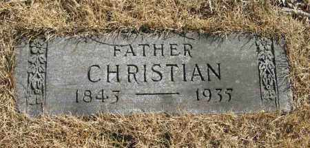 STABEN, CHRISTIAN - Washington County, Nebraska | CHRISTIAN STABEN - Nebraska Gravestone Photos