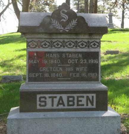 STABEN, GRETGEN - Washington County, Nebraska | GRETGEN STABEN - Nebraska Gravestone Photos