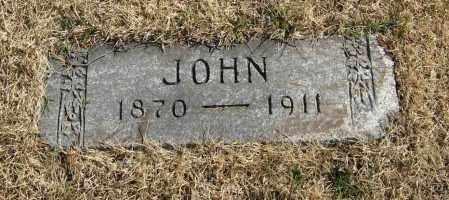 STABEN, JOHN - Washington County, Nebraska | JOHN STABEN - Nebraska Gravestone Photos