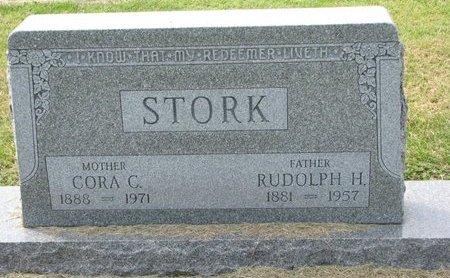 STORK, RUDOLPH H. - Washington County, Nebraska | RUDOLPH H. STORK - Nebraska Gravestone Photos