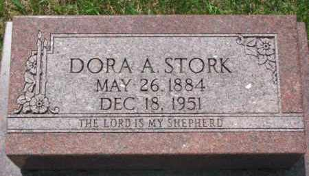 STORK, DORA A. - Washington County, Nebraska | DORA A. STORK - Nebraska Gravestone Photos