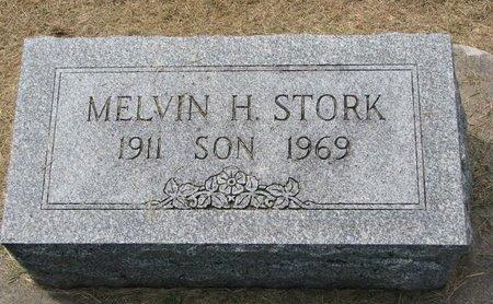 STORK, MELVIN H. - Washington County, Nebraska | MELVIN H. STORK - Nebraska Gravestone Photos
