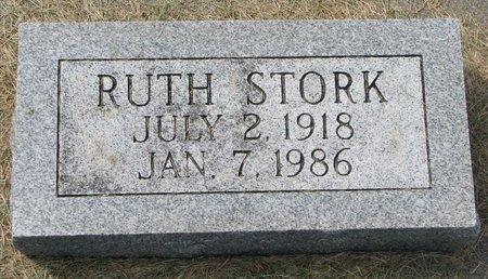 STORK, RUTH - Washington County, Nebraska | RUTH STORK - Nebraska Gravestone Photos