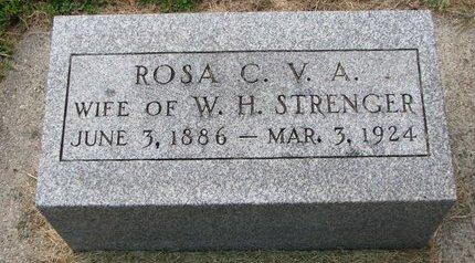 LALLMAN STRENGER, ROSA C.V.A. - Washington County, Nebraska | ROSA C.V.A. LALLMAN STRENGER - Nebraska Gravestone Photos