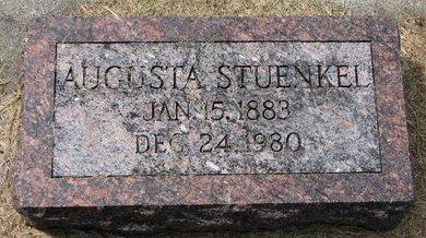 LALLMAN STUENKEL, AUGUSTA - Washington County, Nebraska | AUGUSTA LALLMAN STUENKEL - Nebraska Gravestone Photos