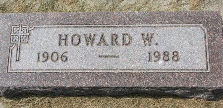 STUENKEL, HOWARD W. - Washington County, Nebraska | HOWARD W. STUENKEL - Nebraska Gravestone Photos