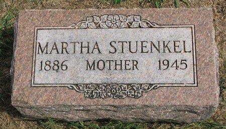 LALLMAN STUENKEL, MARTHA - Washington County, Nebraska | MARTHA LALLMAN STUENKEL - Nebraska Gravestone Photos
