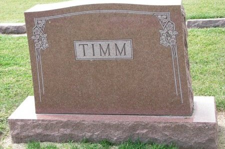 TIMM, *FAMILY MONUMENT - Washington County, Nebraska | *FAMILY MONUMENT TIMM - Nebraska Gravestone Photos