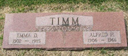 TIMM, EMMA D. - Washington County, Nebraska | EMMA D. TIMM - Nebraska Gravestone Photos