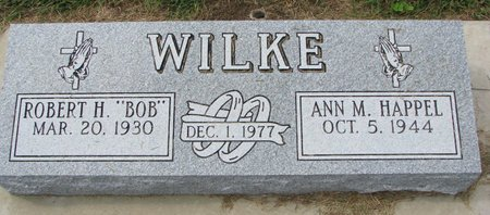 "WILKE, ROBERT H. ""BOB"" - Washington County, Nebraska | ROBERT H. ""BOB"" WILKE - Nebraska Gravestone Photos"