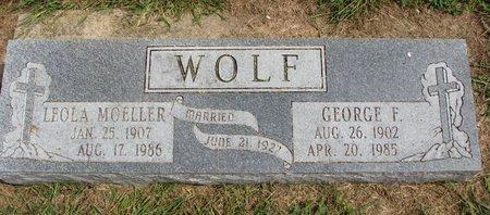 MOELLER WOLF, LEOLA - Washington County, Nebraska   LEOLA MOELLER WOLF - Nebraska Gravestone Photos