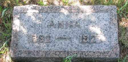 BRADER, ANNA - Wayne County, Nebraska   ANNA BRADER - Nebraska Gravestone Photos