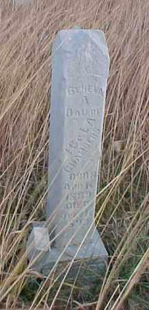CHAMBERS, GENEVA - Wayne County, Nebraska | GENEVA CHAMBERS - Nebraska Gravestone Photos
