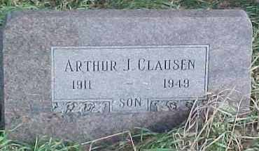 CLAUSEN, ARTHUR J. - Wayne County, Nebraska   ARTHUR J. CLAUSEN - Nebraska Gravestone Photos