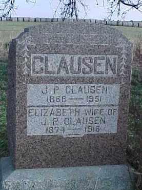CLAUSEN, J.P. - Wayne County, Nebraska | J.P. CLAUSEN - Nebraska Gravestone Photos