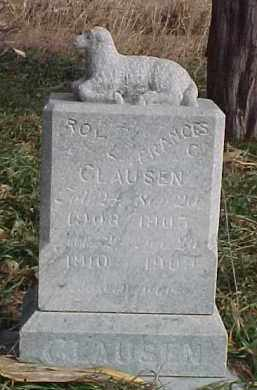CLAUSEN, ROY L. - Wayne County, Nebraska | ROY L. CLAUSEN - Nebraska Gravestone Photos