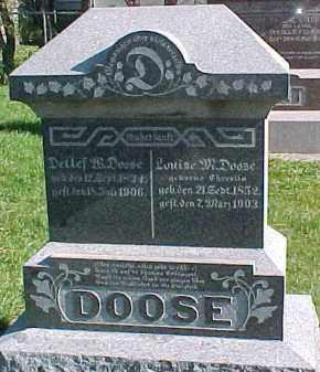 DOOSE, DETLAF - Wayne County, Nebraska | DETLAF DOOSE - Nebraska Gravestone Photos