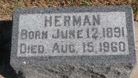 DOOSE, HERMAN - Wayne County, Nebraska | HERMAN DOOSE - Nebraska Gravestone Photos