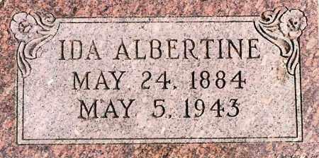 DOOSE, IDA ALBERTINE - Wayne County, Nebraska | IDA ALBERTINE DOOSE - Nebraska Gravestone Photos