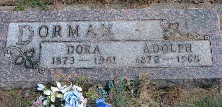 DORMAN, ADOLPH - Wayne County, Nebraska | ADOLPH DORMAN - Nebraska Gravestone Photos