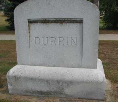 DURRIN, FAMILY STONE - Wayne County, Nebraska | FAMILY STONE DURRIN - Nebraska Gravestone Photos