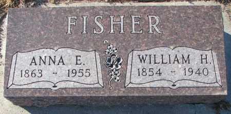 FISHER, ANNA E. - Wayne County, Nebraska   ANNA E. FISHER - Nebraska Gravestone Photos