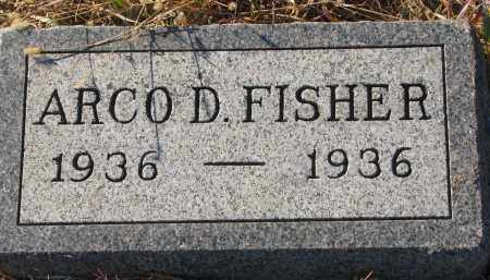 FISHER, ARCO D. - Wayne County, Nebraska   ARCO D. FISHER - Nebraska Gravestone Photos
