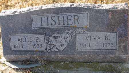 FISHER, VEVA B. - Wayne County, Nebraska | VEVA B. FISHER - Nebraska Gravestone Photos