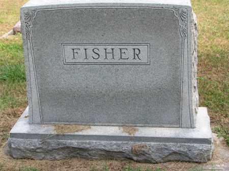 FISHER, FAMILY STONE - Wayne County, Nebraska | FAMILY STONE FISHER - Nebraska Gravestone Photos