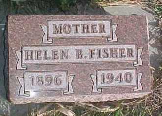 FISHER, HELEN B. - Wayne County, Nebraska | HELEN B. FISHER - Nebraska Gravestone Photos