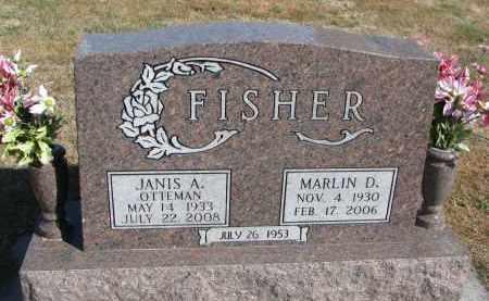 FISHER, MARLIN D. - Wayne County, Nebraska | MARLIN D. FISHER - Nebraska Gravestone Photos