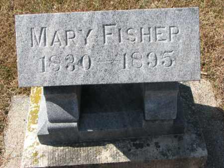 FISHER, MARY - Wayne County, Nebraska | MARY FISHER - Nebraska Gravestone Photos