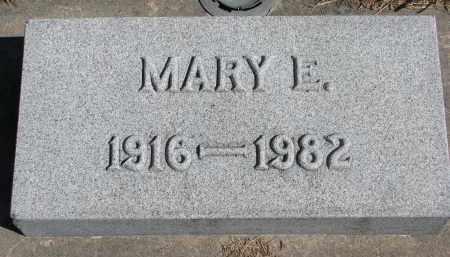FISHER, MARY E. - Wayne County, Nebraska   MARY E. FISHER - Nebraska Gravestone Photos