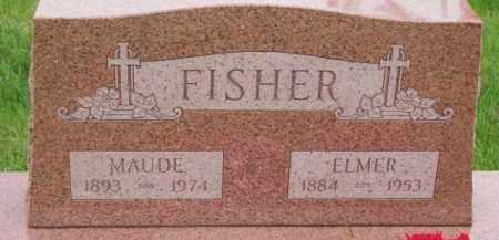 FISHER, ELMER - Wayne County, Nebraska | ELMER FISHER - Nebraska Gravestone Photos