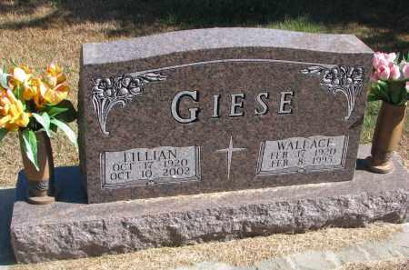 GIESE, LILLIAN - Wayne County, Nebraska | LILLIAN GIESE - Nebraska Gravestone Photos