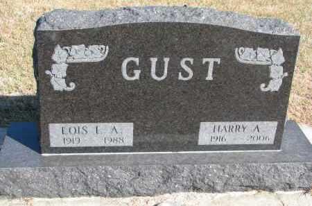GUST, HARRY A. - Wayne County, Nebraska | HARRY A. GUST - Nebraska Gravestone Photos