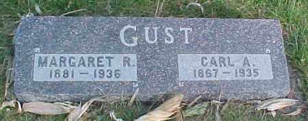 GUST, CARL A. - Wayne County, Nebraska | CARL A. GUST - Nebraska Gravestone Photos
