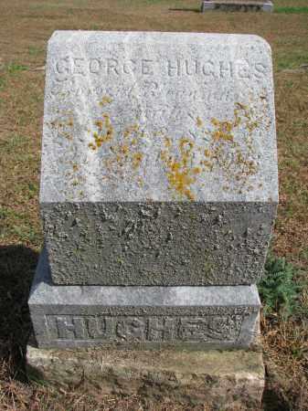 HUGHES, GEORGE - Wayne County, Nebraska | GEORGE HUGHES - Nebraska Gravestone Photos