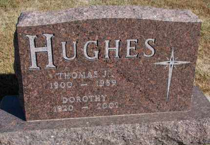 HUGHES, THOMAS J. - Wayne County, Nebraska | THOMAS J. HUGHES - Nebraska Gravestone Photos